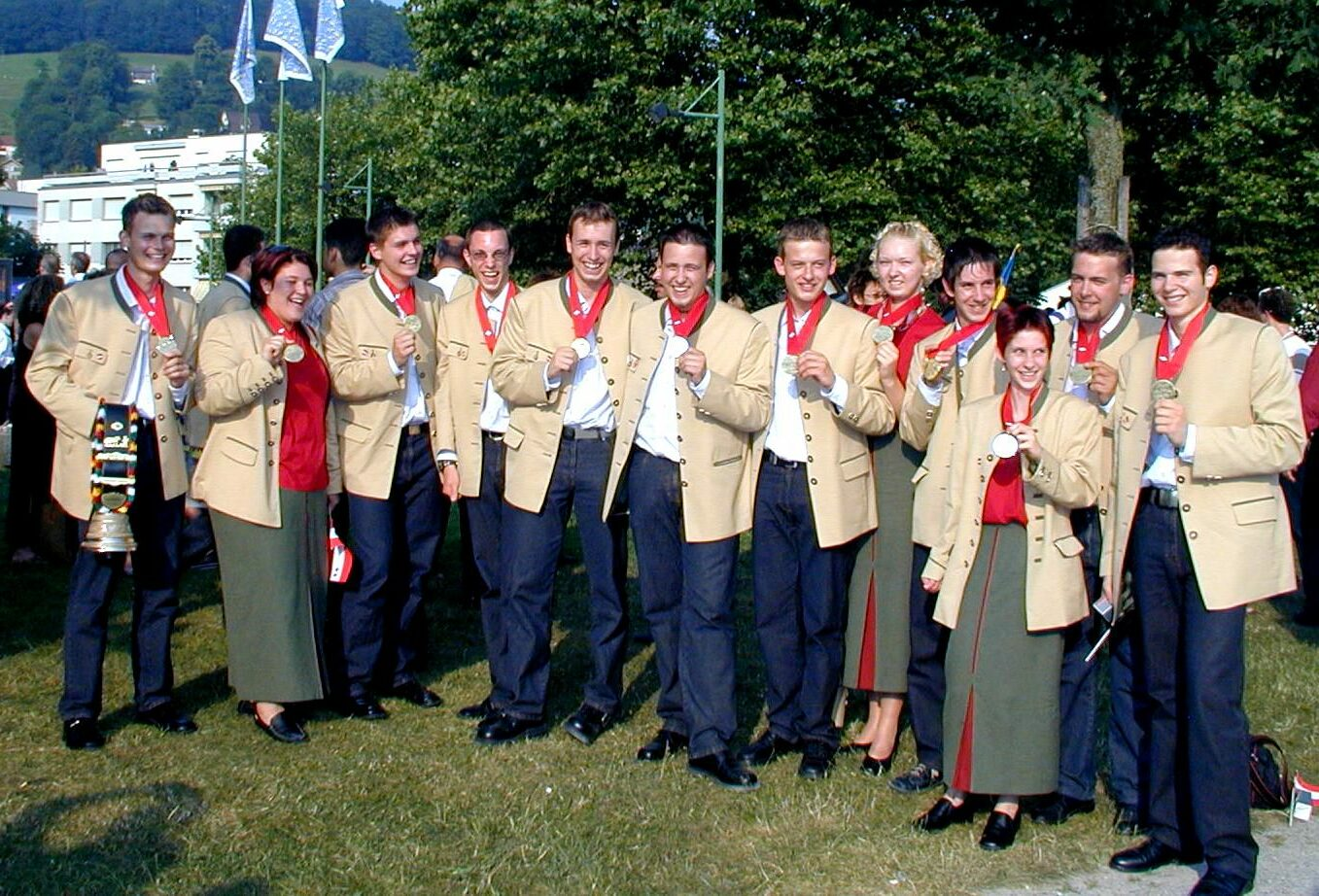 2003 Weltmeister in St. Gallen